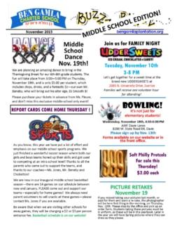 middle school newsletter middle school news ben gamla charter